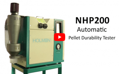 Holmen NHP200 Automatic Pellet Durability Tester