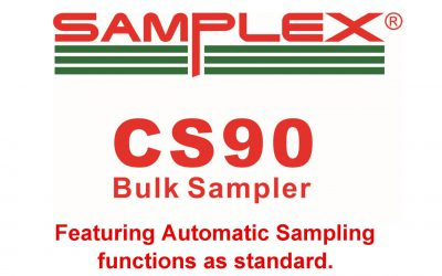 Samplex CS90 Video featuring automatic sampling functions.