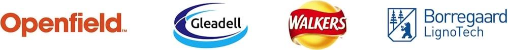 TekPro Client include Openfield, Gleadell, Walkers, Borregaard LognoTech