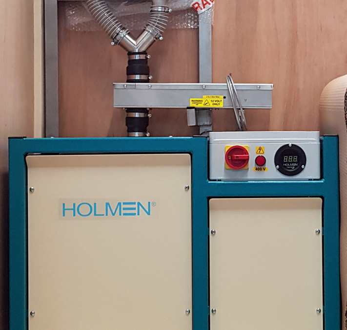 Holmen NHP300 News: Further investment at Lancashire feed mill for in-line durability testing